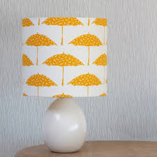 Bird And Branch Table Lamp by Decor Lovely White Original Woodland Lampshade By James Design