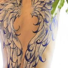 spiritual lower back wings lower back on