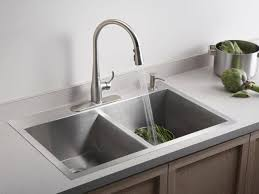 3 Hole Kitchen Faucets by Kitchen Sinks Faucets Kitchen Sinks Best Rated Ones Standard Hole