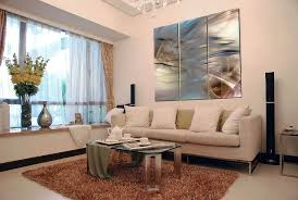 How To Decorate A Long Wall In Living Room Large Artwork For Wall Large Artwork For Living Room With The