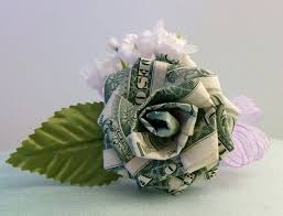 money flowers origami money origami money for wedding party favors