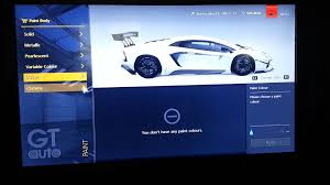 gran turismo paint colors youtube