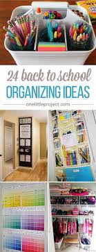 Back To School Desk Organization These Back To School Organization Ideas Make The Perfectionist In