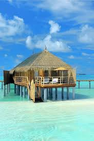 Tiki Hut On Water Vacation 10 Sensational Resorts With Overwater Bungalows Overwater