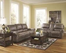 faux leather reclining sofa ashley furniture faux leather sofas loveseats chaises ebay