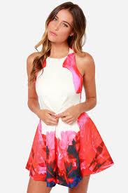 keepsake dresses keepsake chained dress ivory dress backless dress mini dress