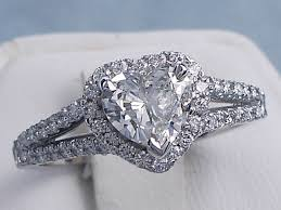 diamond shaped rings images Engagement rings heart shaped diamond 104 ctw heart shape diamond gif