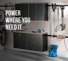 Rubbermaid Garage Organization System - rubbermaid fasttrack power strip on behance