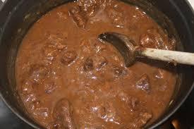 comment cuisiner du jarret de boeuf la cuisine de bernard carbonade flamande