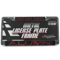 byu alumni license plate frame teamstores ncaa automotive license plates auto accessories