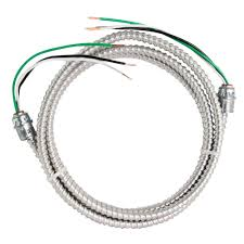 Wire 100 Ft Free Wiring Diagrams Pictures Southwire 8 Ft 12 2 Stranded Cu Mc Whip 58947614 The Home Depot