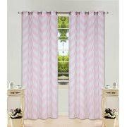 Light Silver Curtains Chevron Curtains