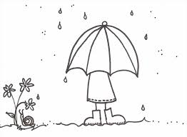 rain drop coloring page newcoloring123