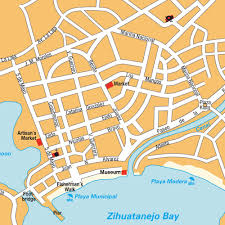 Mexico Maps Map Zihuatanejo Guerrero Mexico Maps And Directions At Map