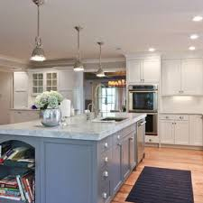 gray kitchen cabinets with white marble countertops 75 beautiful kitchen with gray cabinets and marble