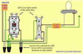 wiring diagram for gfi plug and light switch u2013 readingrat net