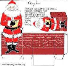 santa claus free printable diy christmas paper crafts u2013 christmas