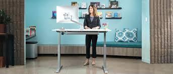 office design ergonomic office desk standing office standing