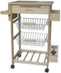 chariot cuisine chariots chariot cuisine bois avec planches à découper tiroir e