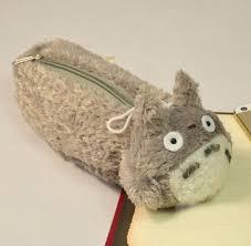 Dstockage Papeterie Pelucheux Mignon Mon Voisin Totoro Crayon Sac De Stockage De
