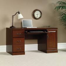 Computer Desk With Hutch Cherry by Heritage Hill Computer Credenza 404944 Sauder