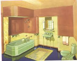 1930 bathroom design 1930s bathroom design retro interiors 1930s