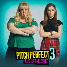 save the date pitch perfect 3 is hitting theaters august 4 2017