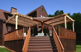Deck Pergola Pictures by Louvered Deck Pergola No Sp3 By Trellis Structures