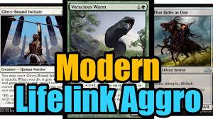 mtg budget white green lifelink aggro deck tech youtube