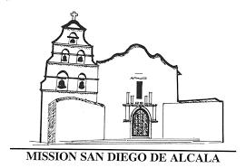 mission san diego de alcala floor plan california missions