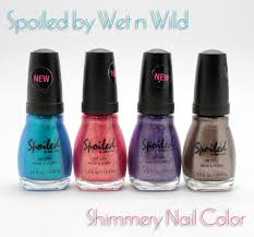 spoiled by wet n wild shimmery nail colors vampy varnish