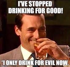 Funny Alcohol Memes - drinking guy imgflip