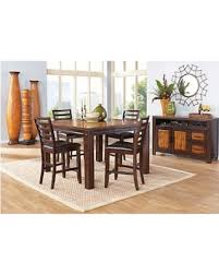chocolate dining room table get this amazing shopping deal on adelson chocolate 5 pc counter