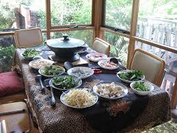 fondue vietnamienne cuisine asiatique recette steamboat pot fondue chinoise recettes asiatiques
