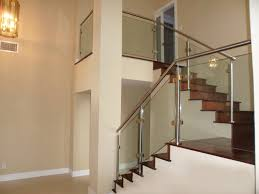 Glass Stair Rail by Modern Glass Stainless Staircases Miami Stairs Glass Railings