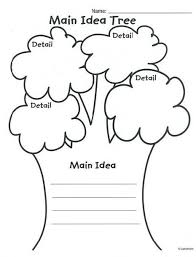 our tree named steve main idea lesson plan