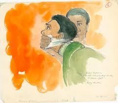 on the job courtroom sketch artist arts u0026 culture smithsonian