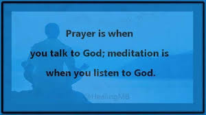 mindfulness wellness on prayer is when you talk to god