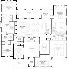 One Story Luxury Home Floor Plans 45 Best House Plans Images On Pinterest Dream House Plans Home