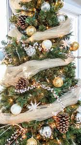 Christmas Tree Stop - my rustic glam christmas tree from cheap and fake to fabulous