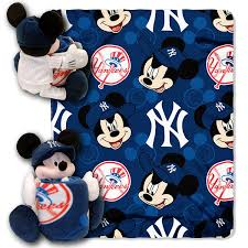 Baby Mickey Crib Bedding by Amazon Com Mlb New York Yankees Pitch Crazy Co Branded Disney U0027s