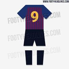 Home Kit Update Barcelona 18 19 Home Kit Design Shorts U0026 Socks Leaked