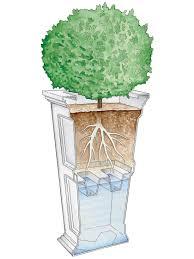 enchanting how do self watering planters work 28 about remodel