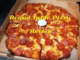 round table pizza pan vs original crust round table pizza review youtube