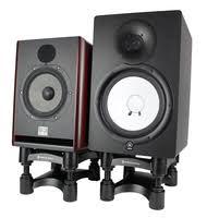 pedestal desktop speaker stands full compass