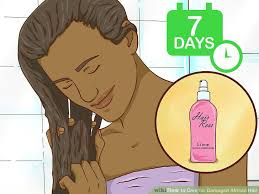 how to care for damaged african hair 12 steps with pictures