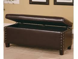 Bedroom Storage Ottoman Leather Storage Bench Plus Small Storage Ottoman Plus Leather