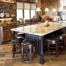 kitchen island ideas for small kitchens rustic exposed brick walls