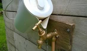 How To Fix Outside Faucet Handle How To Replace A Spigot Washer Dripping Outside Tap Bibcock