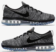 Nike Oreo nike flyknit max mens running shoes 10 white black oreo 620469 105